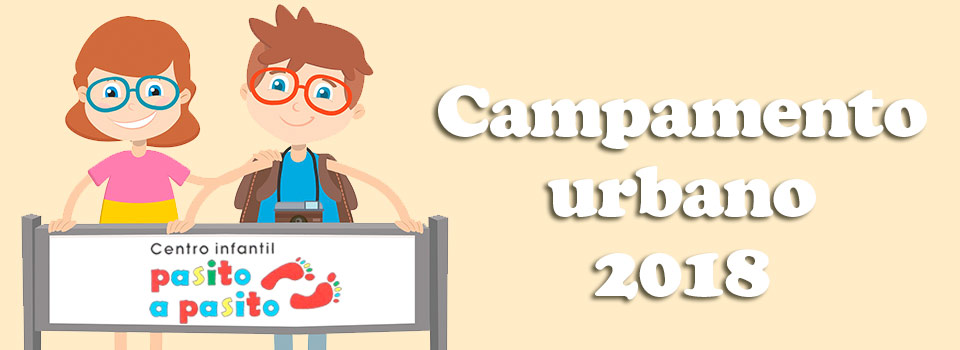 Campamento urbano en León 2018 - Pasito a Pasito